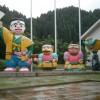 大雨の中、玖珠町へ・・・