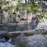 清風荘の露天風呂