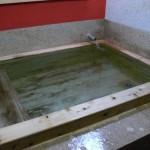 清風荘 ひのきの湯 浴槽